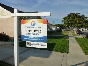 Keith Kyle realtor South Bay Brokers for sale sign