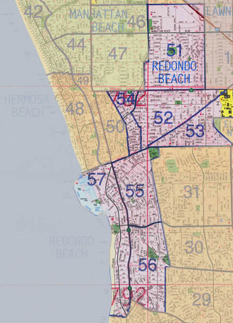 Redondo Beach Real Estate Map